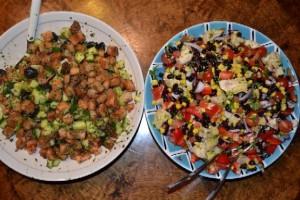 Ruokaisat salaatit ravintola Murun tapaan onnistuvat kotikeittiössäkin!