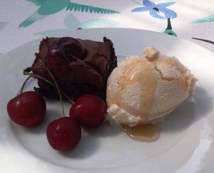 Kakkua ja vegaanista vaniljajäätelöä